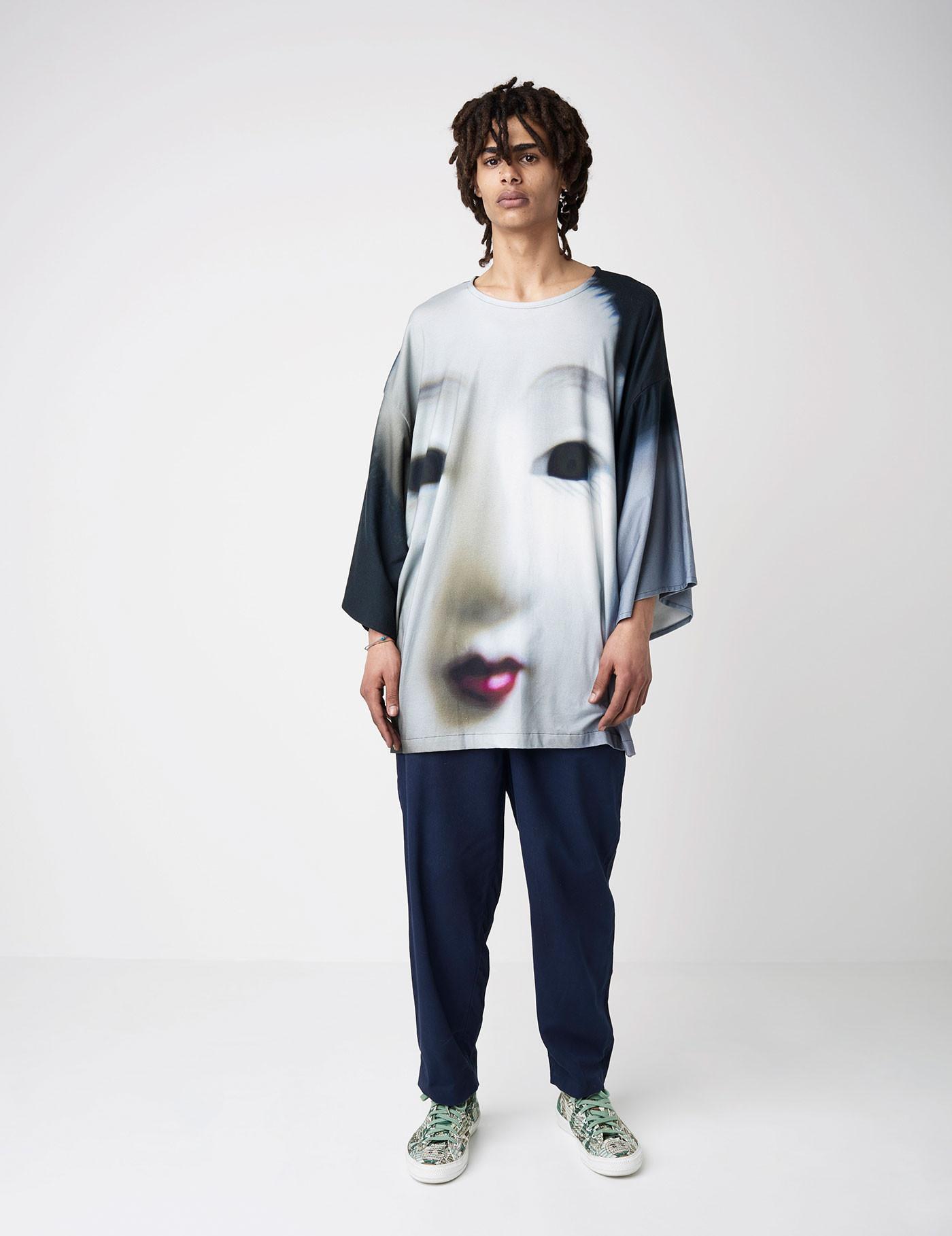 865e3306b Organic Cotton KIMONO T-SHIRT - Silvia Giovanardi   Sustainable Fashion